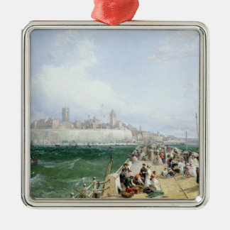 A View of Margate from the Pier, 1868 Christmas Ornament