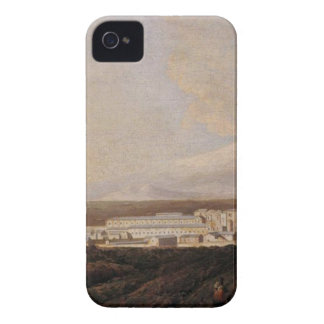 A View of Mount Etna and A Nearby Town iPhone 4 Case