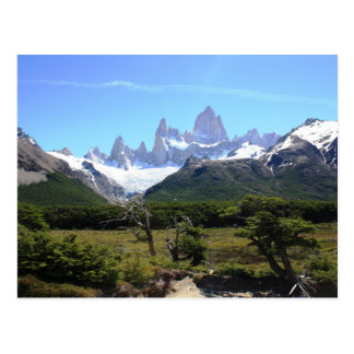 A View Of Mount Fitz Roy Postcard
