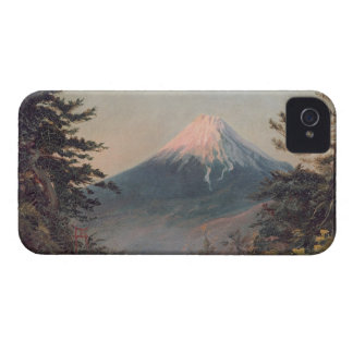 A View of Mount Fusiyama with Figures in the Foreg iPhone 4 Case-Mate Case
