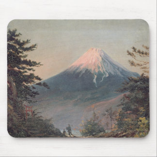 A View of Mount Fusiyama with Figures in the Foreg Mouse Mat