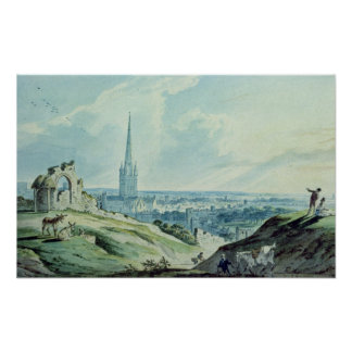 A View of Norwich, from Mouseshold Hill Posters