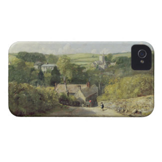 A View of Osmington Village with the Church and Vi iPhone 4 Case-Mate Case