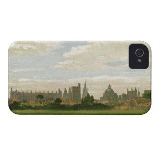 A View of Oxford (oil on millboard) iPhone 4 Cover