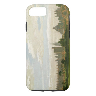 A View of Oxford (oil on millboard) iPhone 7 Case