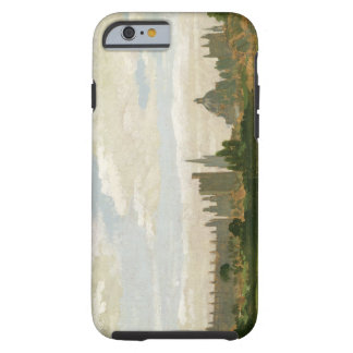 A View of Oxford oil on millboard iPhone 6 Case