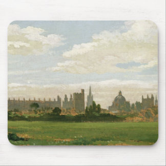 A View of Oxford (oil on millboard) Mouse Mat