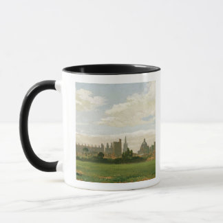 A View of Oxford (oil on millboard) Mug