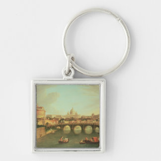 A View of Rome Key Ring