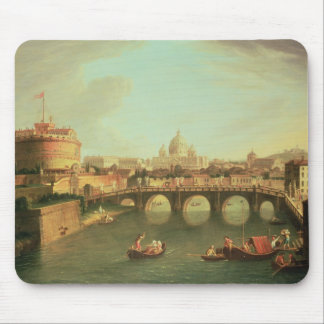A View of Rome Mouse Mat