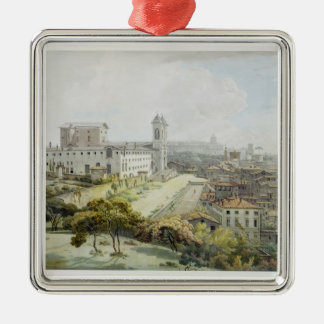 A View of Rome taken from the Pincio, 1776 (w/c ov Christmas Ornament