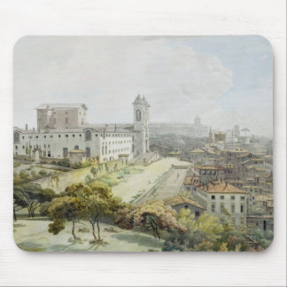 A View of Rome taken from the Pincio, 1776 (w/c ov Mouse Mat