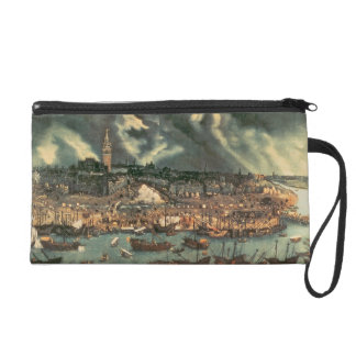 A View of Seville Wristlet Clutch