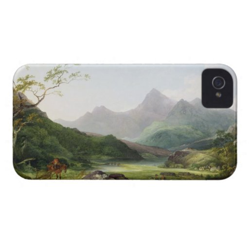 A View of Snowdon from Capel Curig, 1787 (oil on c Case-Mate iPhone 4 Case
