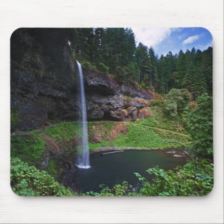 A view of South Falls in Silver Falls State Park Mouse Pad