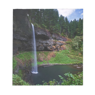 A view of South Falls in Silver Falls State Park Notepad