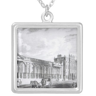 A View of the Bank of England Silver Plated Necklace
