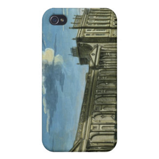 A View of the Bank of England, Threadneedle Street Covers For iPhone 4