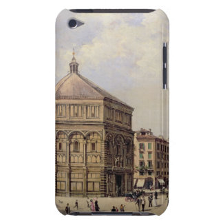 A View of the Baptistry in Florence (panel) iPod Case-Mate Case