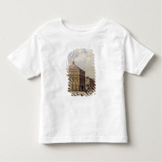 A View of the Baptistry in Florence (panel) Toddler T-Shirt