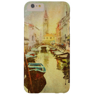 A View Of The Canal With Boats And Buildings Barely There iPhone 6 Plus Case