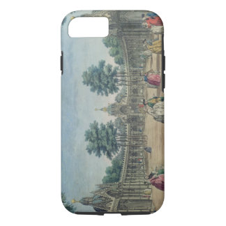 A View of the Chinese Pavilions and Boxes in Vauxh iPhone 8/7 Case