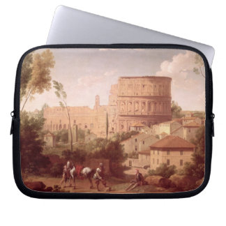 A View of the Colosseum with a Traveller, 1731 (oi Laptop Sleeve