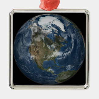A view of the Earth Christmas Ornament
