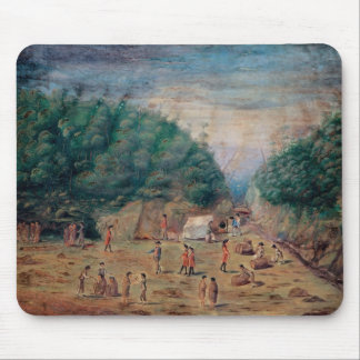 A View of the 'Endeavour's' Watering Place Mouse Mat