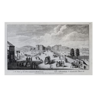 A View of the Foundling Hospital Poster