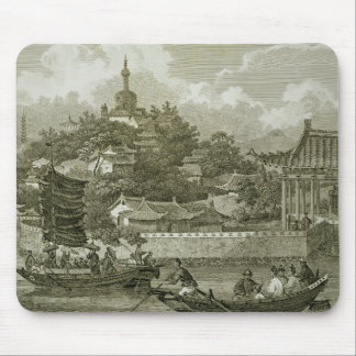 A View of the Gardens of the Imperial Palace, Peki Mouse Mat