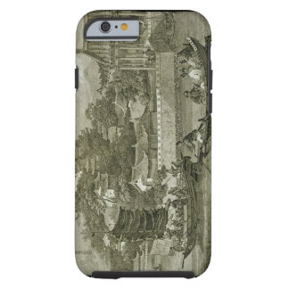 A View of the Gardens of the Imperial Palace, Peki Tough iPhone 6 Case