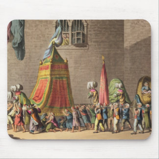 A View of the Grand Procession of the Sacred Camel Mouse Mat