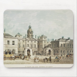 A view of the Horse Guards from Whitehall Mouse Mat