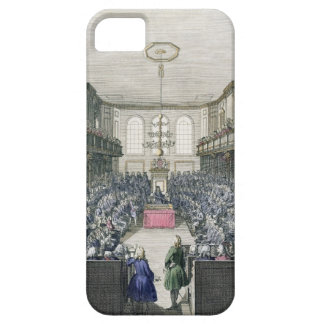 A View of the House of Commons, engraved by B. Col iPhone 5 Cases