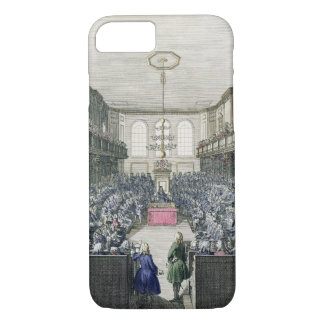 A View of the House of Commons, engraved by B. Col iPhone 8/7 Case