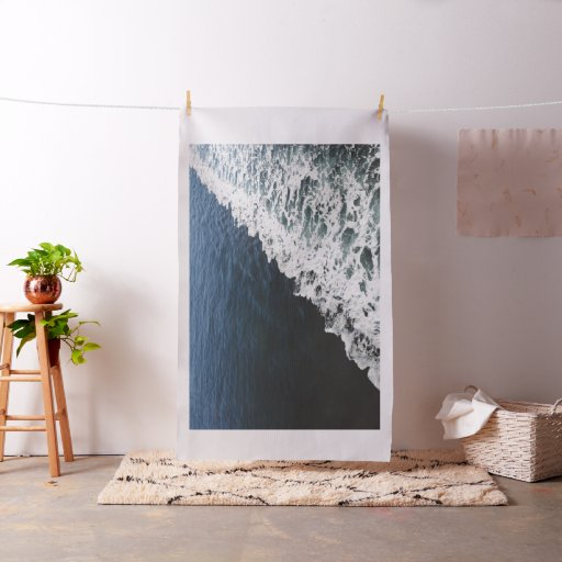 A View of the Ocean Tapestry Fabric