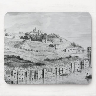 A view of the port of the city of Lyons Mouse Mat