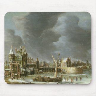 A View of the Regulierspoort Mouse Mat