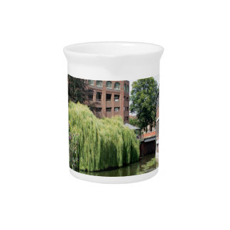 A view of the River Foss in York Pitcher
