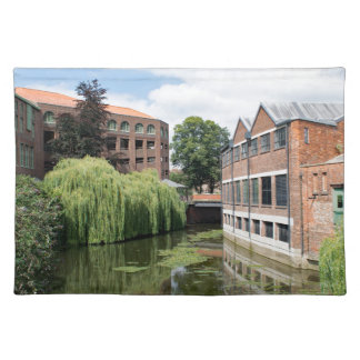A view of the River Foss in York Place Mat