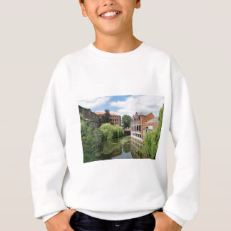 A view of the River Foss in York Sweatshirt