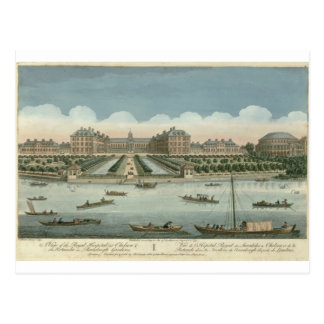 A View of the Royal Hospital at Chelsea and the Ro Postcard