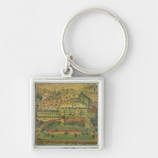 A View of the Royal Palace, Brussels Key Ring