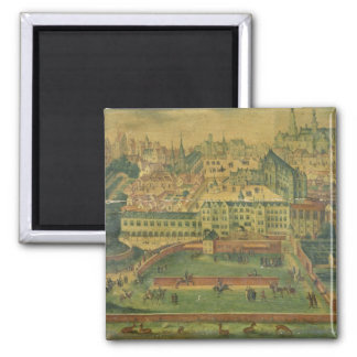 A View of the Royal Palace, Brussels Magnet