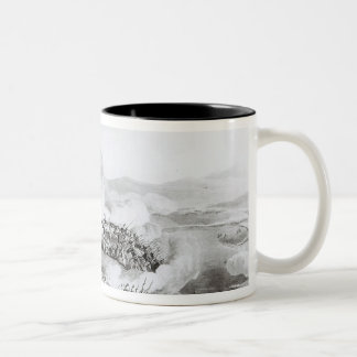 A View of the Serra de Busacco at San Antonio Two-Tone Coffee Mug
