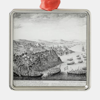 A View of the Taking of Quebec Christmas Ornament