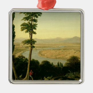 A View of the Tiber and the Roman Campagna Christmas Ornament