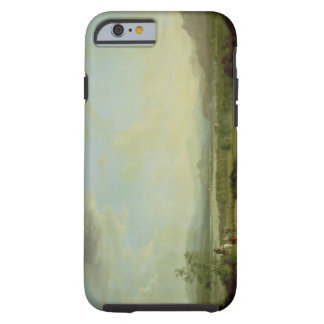 A View of the Town of Stirling on the River Forth iPhone 6 Case