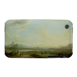 A View of the Town of Stirling on the River Forth Case-Mate iPhone 3 Case